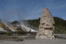 イエローストーン国立公園のリバティ・キャップの画像002