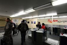 アラスカの空港の画像001