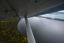 アラスカの水上飛行機の画像012