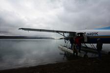 アラスカの水上飛行機の画像016