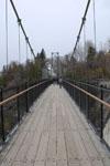 モンモランシーの滝公園の橋