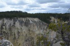イエローストーン国立公園の渓谷の画像005