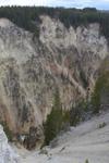 イエローストーン国立公園の渓谷の画像006