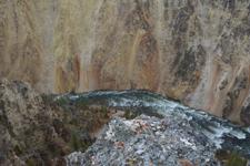 イエローストーン国立公園の川の画像007