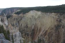 イエローストーン国立公園の渓谷の画像008