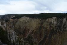 イエローストーン国立公園の渓谷の画像009