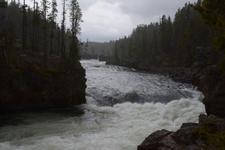 イエローストーン国立公園の川の画像010