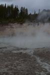 イエローストーン国立公園のホットスプリングの画像004