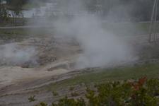 イエローストーン国立公園のホットスプリングの画像006