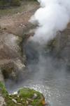 イエローストーン国立公園のホットスプリングの画像015