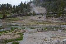 イエローストーン国立公園のホットスプリングの画像017