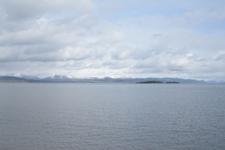 イエローストーン国立公園の湖と山の画像003