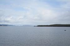 イエローストーン国立公園の湖と山の画像004