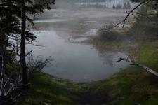 イエローストーン国立公園のホットスプリングの画像022