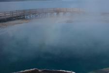 イエローストーン国立公園のホットスプリングの画像036