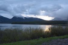 グランド・ティトン国立公園の湖と山の画像002
