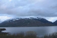 グランド・ティトン国立公園の湖と山の画像004