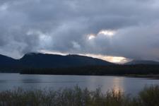 グランド・ティトン国立公園の湖と山の画像005