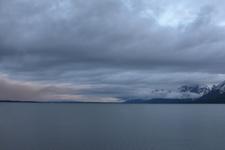 グランド・ティトン国立公園の湖と山の画像006