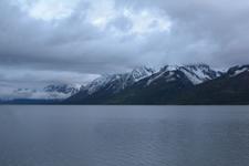 グランド・ティトン国立公園の湖と山の画像007