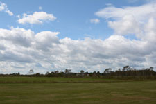 中標津の草原と雲の画像008