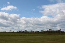中標津の草原と雲の画像011