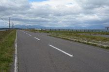 野付半島の道路の画像003
