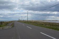 野付半島の道路の画像004