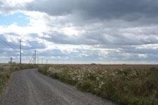 野付半島の道路の画像006