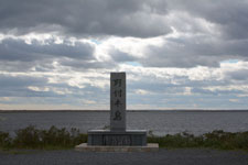 野付半島の標石