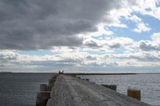 野付半島の桟橋