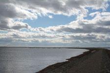 野付半島の海の画像001