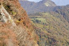 瓶ヶ森の紅葉の画像022