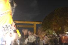 千鳥ヶ淵の満開の夜桜の画像014