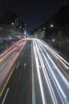 靖国神社の満開の夜桜の画像010