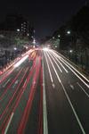 靖国神社の満開の夜桜の画像011