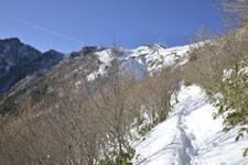 伊予富士の冬山の画像004