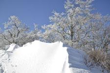 伊予富士の冬山の画像009