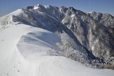 伊予富士の冬山の画像011