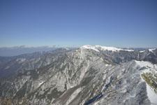 伊予富士の冬山の画像013
