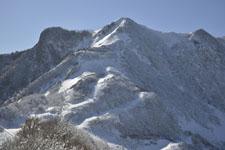 伊予富士の冬山の画像016