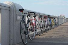 奥多摩の自転車
