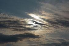 奥多摩の太陽