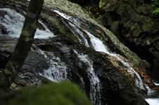 滑床渓谷の川の画像003