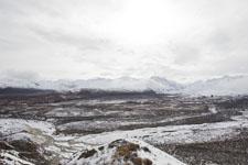 アラスカの山