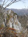 石立山の岩山