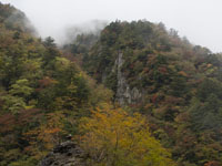 別府峡の紅葉の画像003