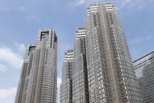 新宿の高層ビルの画像002
