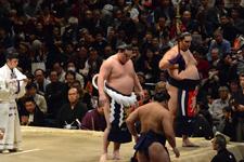 大相撲 横綱土俵入りと白鵬 翔と魁聖 一郎と旭秀鵬 滉規の画像010