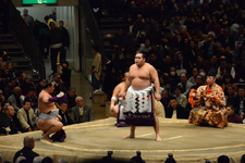 大相撲 横綱土俵入りと鶴竜 力三郎と蒼国 来栄吉と豊ノ島 大樹の画像023